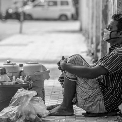 Corona virus is a pandemic worldwide. 293,000 (Approximate) already death till today (13th may 2020). Bangladesh is also affected, countrywide lockdown running last 2 months. Lot of lower income level have no work so they are suffering with basic food & nutrition. Most of them are migrated outside of Dhaka. The busiest capital is now kind of ghost city. Hard working people group like Rikshaw pullers are sitting hare & there to get some food or work. Various local private companies and multinationals are Dismissed their employees. Some are stop paying their salary. So middle income level people are also suffering. Last couple of days people are not intended to maintain the lockdown system as they are hungry. Lot of people get out from home looking for work whatever they got. Government is relaxing the lockdown step by step so that the primary economy can at least run. This portrait story is not about who are directly infected by Corona virus but they are indirectly victim of the broken economic situation due to Covid 19.